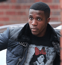 Star turn: England winger Wilfried Zaha.