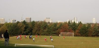 Playing fields near Coombe Wood could soon be bulldozed for a new secondary school