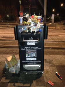 Even smart bins are only any good if contractors get round to emptying them regularly