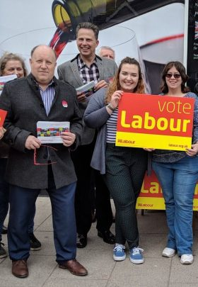 Addiscombe East campaigning