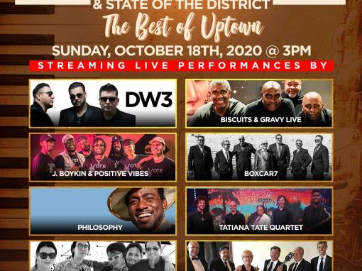 9th Annual Uptown Jazz Festival and State of the District