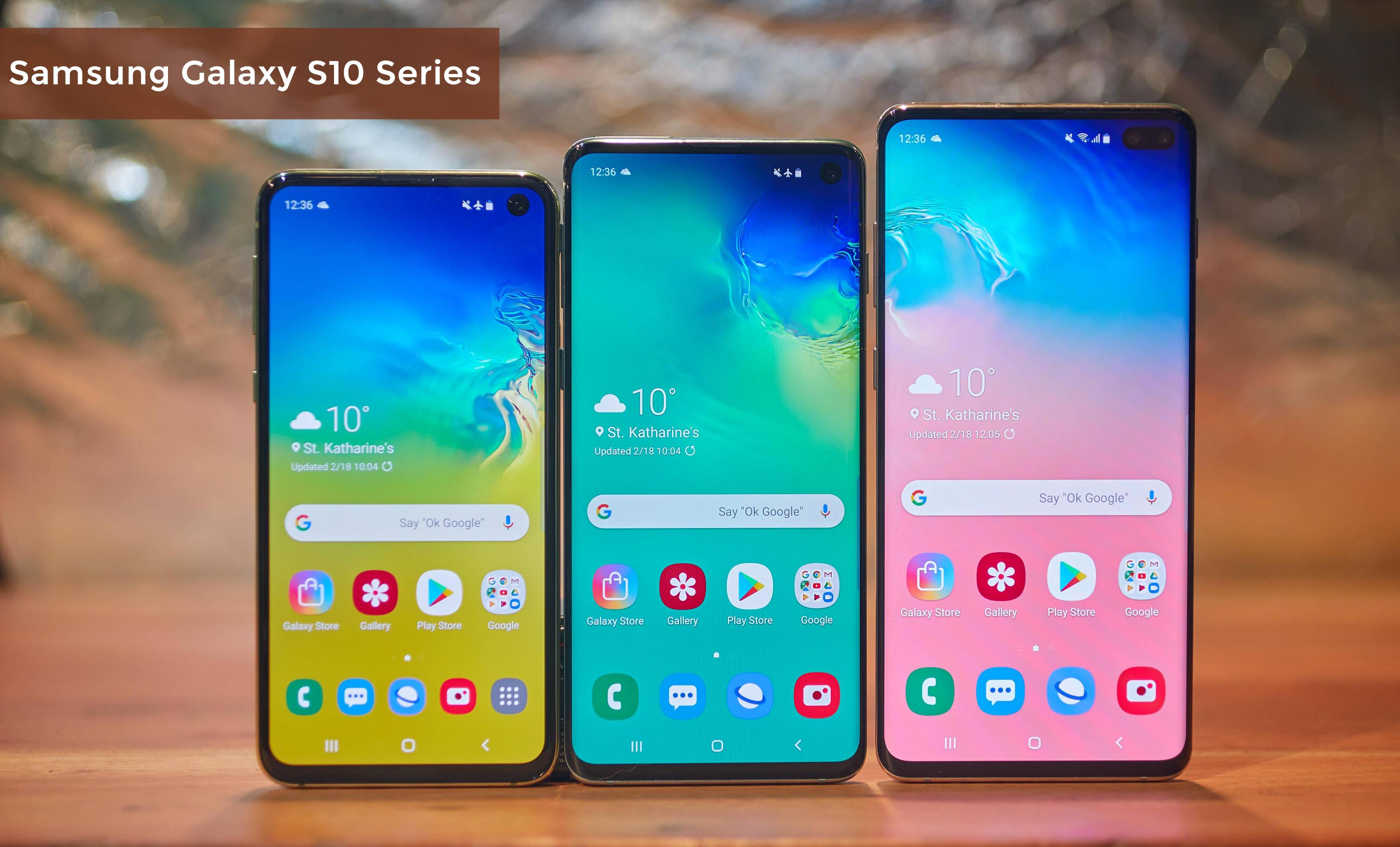 With Incredible features : Samsung launched its Galaxy S10 series smartphones