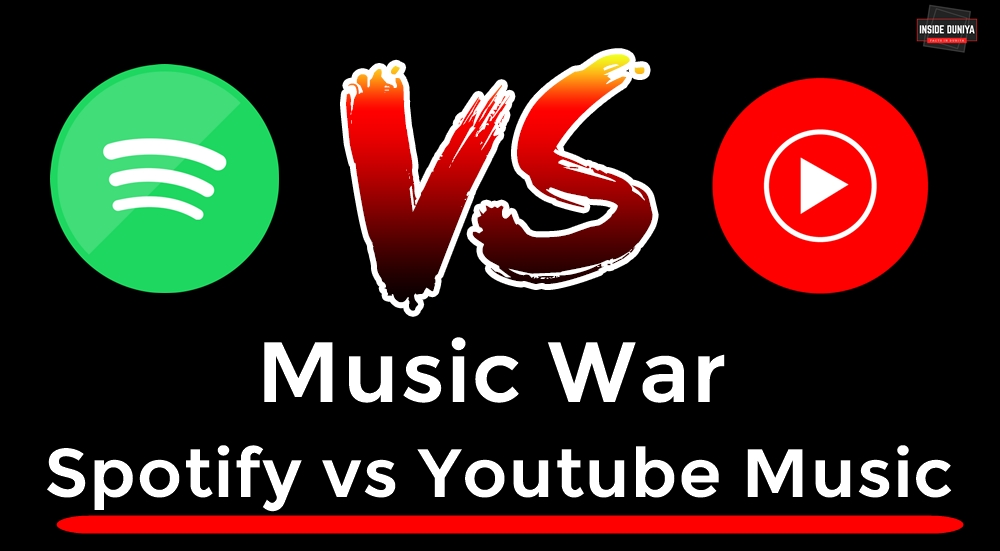 Music War: Spotify vs Youtube Music