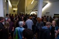 "People @ Arnolfini just before the ""Franz Treichler Plays Dada"""
