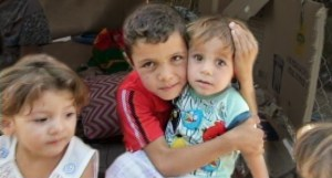 """Hear from Christian children like these who are now living in the refugee camps in Erbil.  Watch """"Voices of the Persecuted: Nineveh's Christians in Exile"""" at 10 p.m. ET, Wednesday, April 1 on EWTN, www.ewtn.com/channelfinder."""