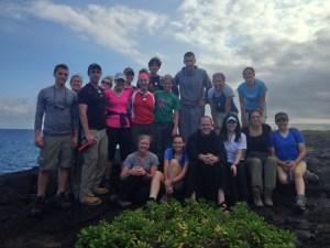 All Participants at Volcano National Park 3