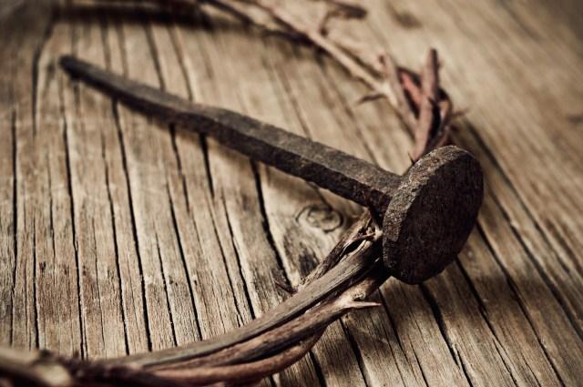 Nail and cross