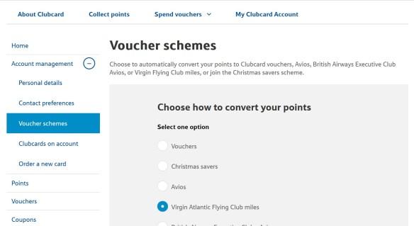 1000 Free Virgin Atlantic Miles - Tesco Clubcard Auto Convert is back!