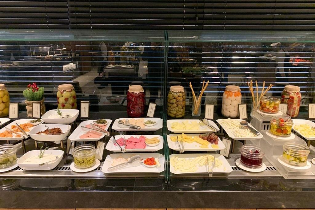 Breakfast buffet at Zaxi Restaurant