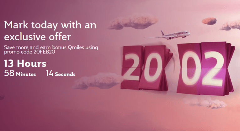 Hurry up! Save up to 10% more and earn 3X Qmiles with Qatar Airways