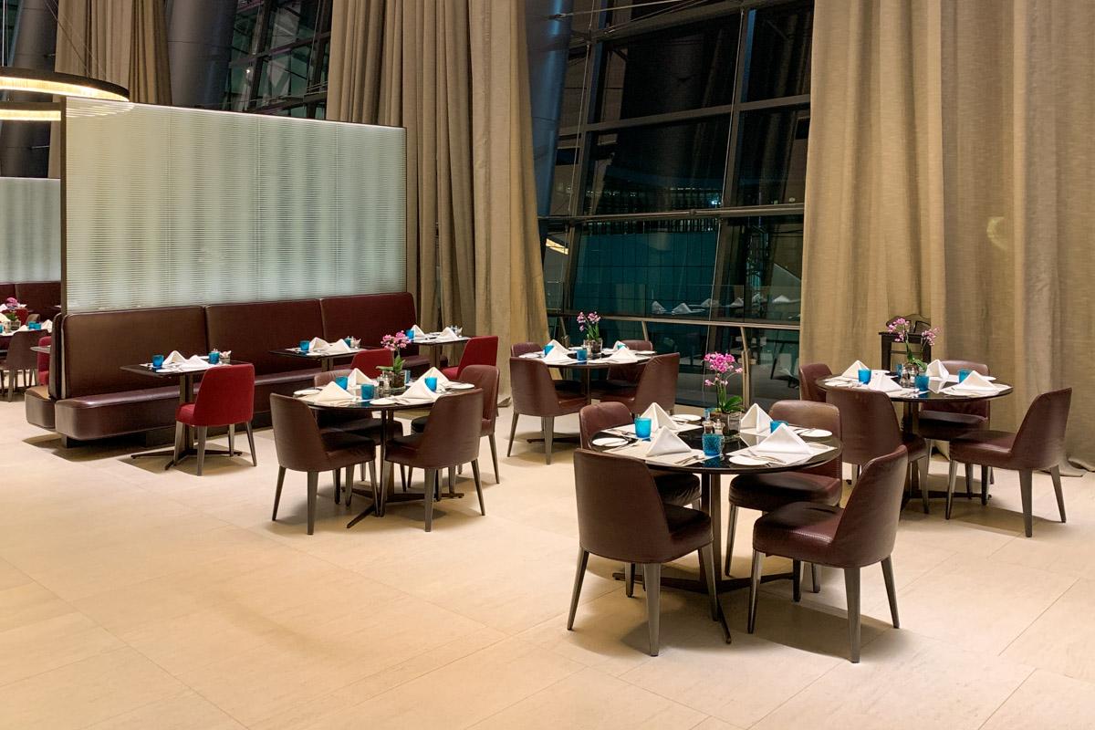 Al Safwa First Class main restaurant