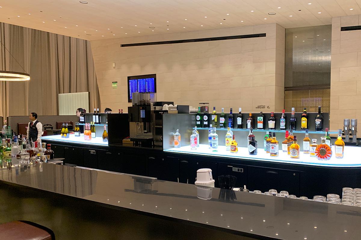 Al Safwa First Class Lounge bar
