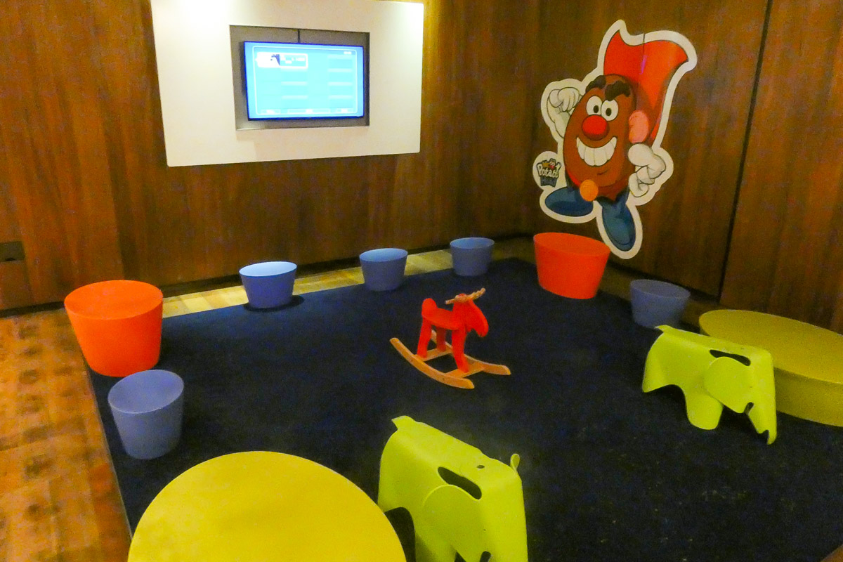 Qatar Airways Al Safwa First Class Lounge playrooms