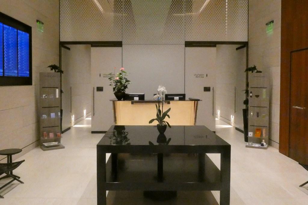 Qspa and sleep rooms reception