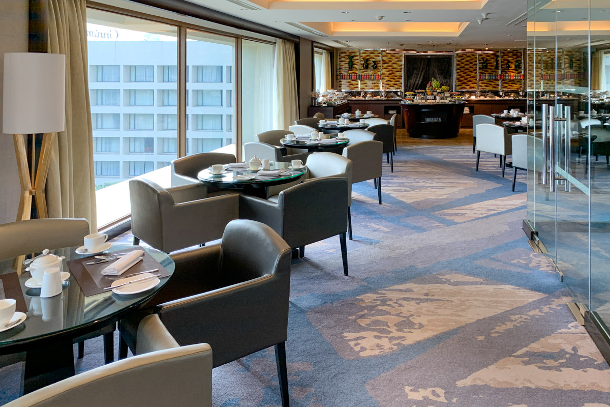 Executive lounge seating  at Cinnamon Grand Colombo