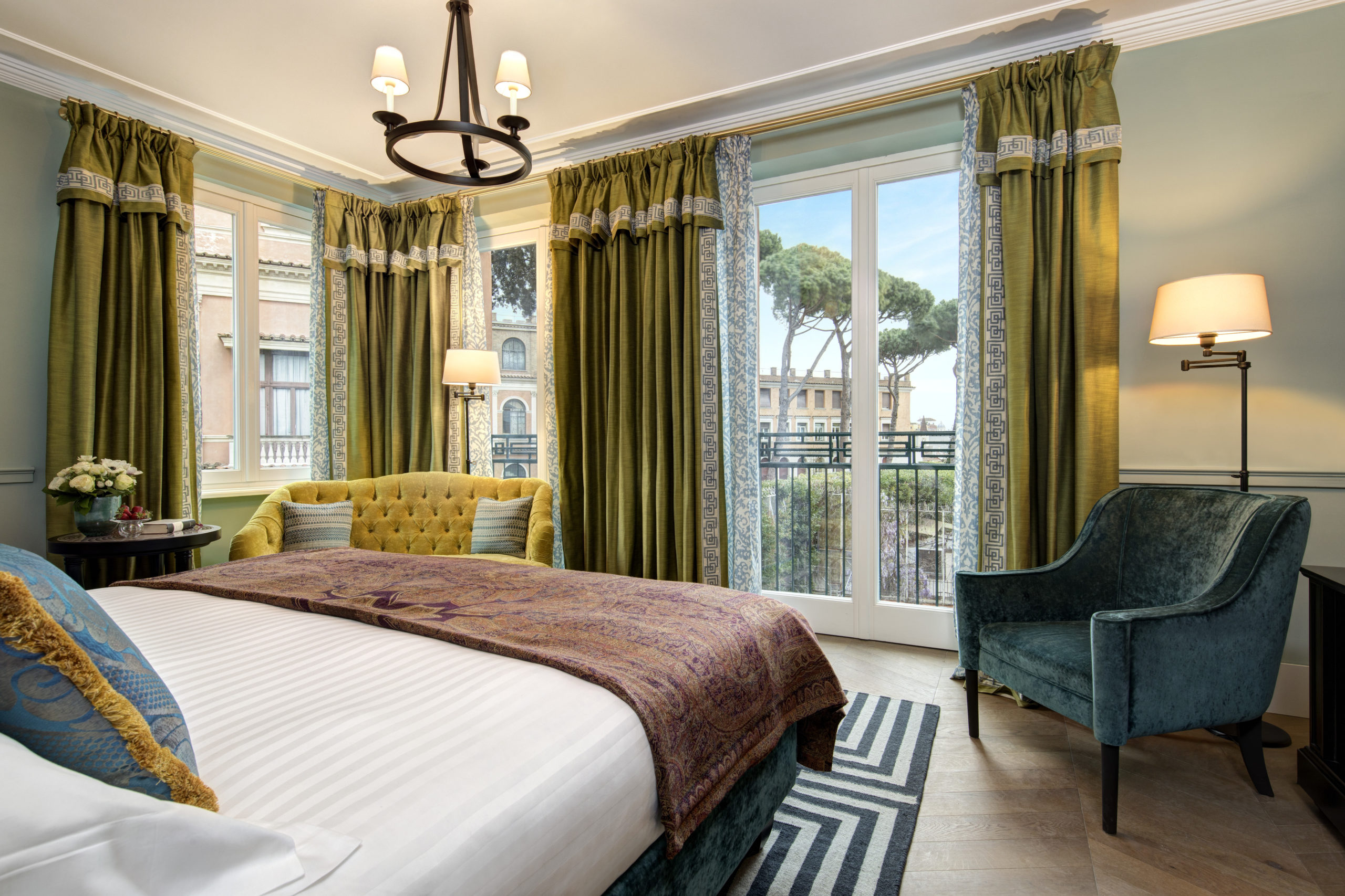 Reise durch Italien Hotel de la Ville