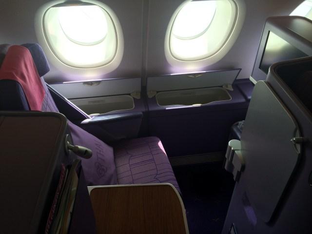 Thai Airways A380 stoel