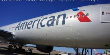 american airlines status challenge