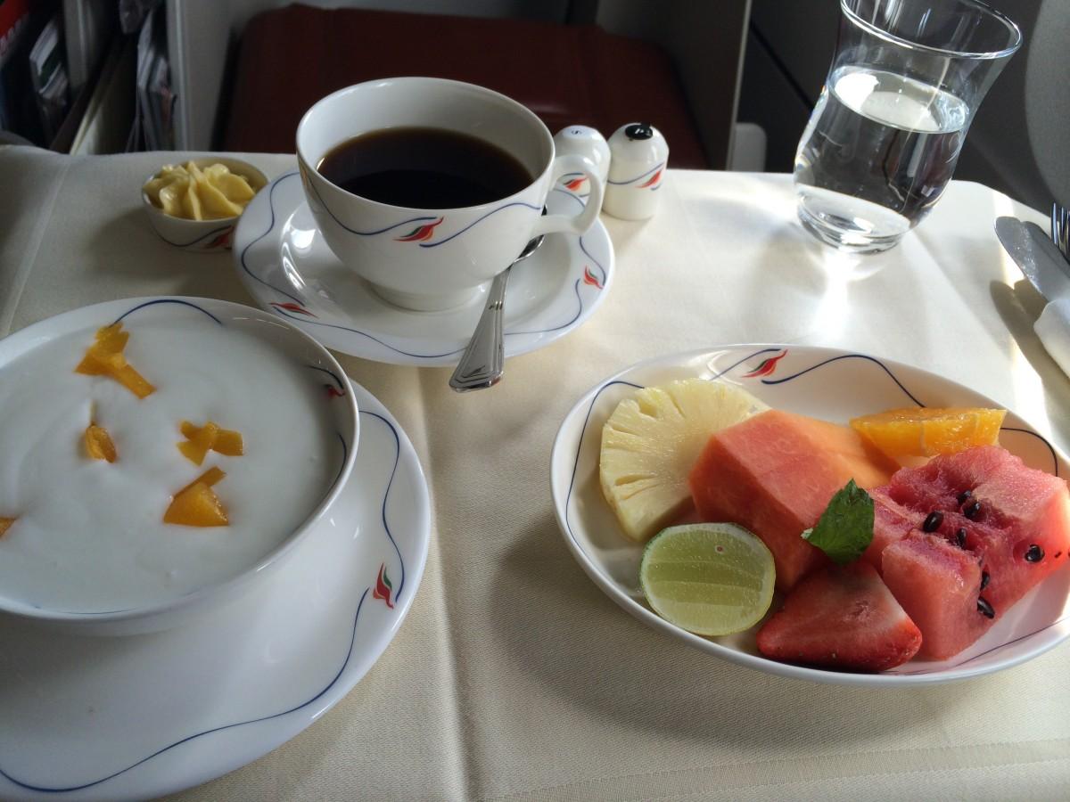 Ontbijt SriLankan Airways