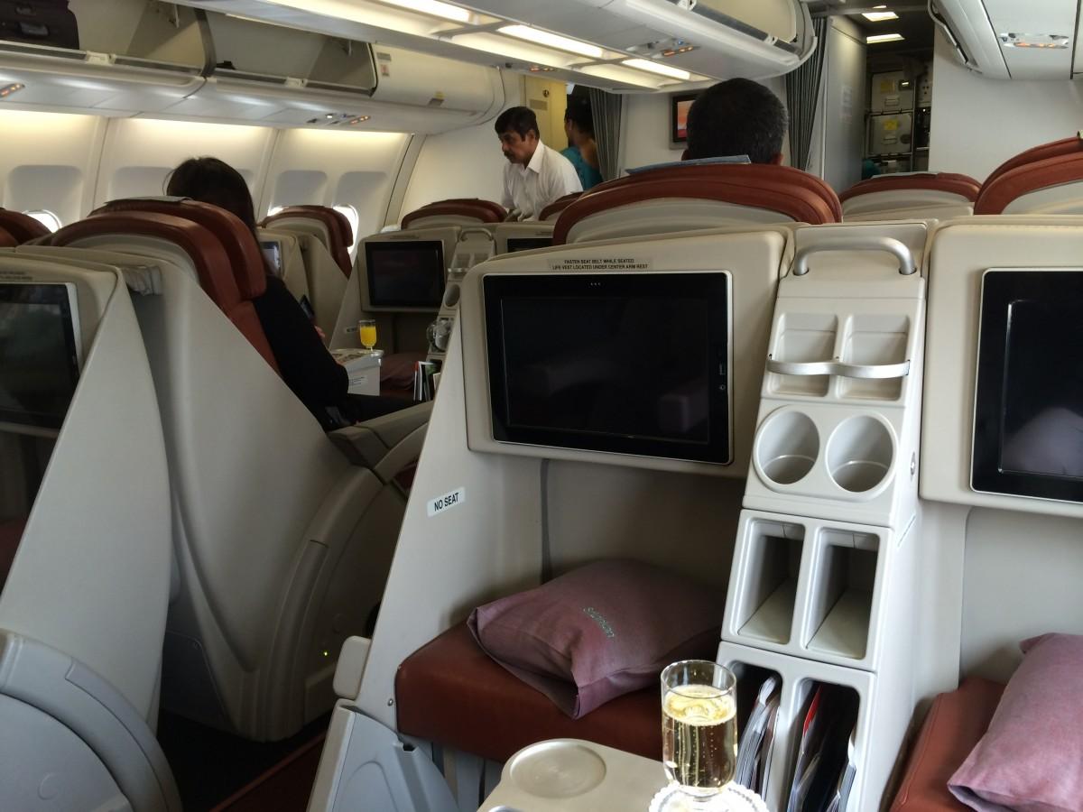 Business Cabin SriLankan A330-200