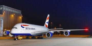 British Airways A380 Wi-Fi