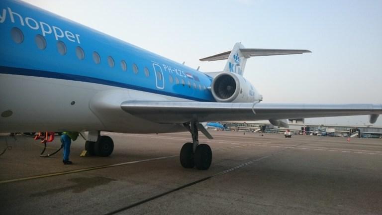 Boarden Fokker 70
