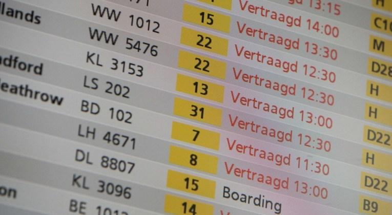 vertraging Afbeelding: vliegen123.nl