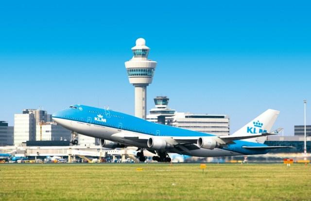 Boeing 747-400 van KLM op de luchthaven van Amsterdam Airport Schiphol (Bron: KLM / Schiphol)