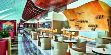 Emirates Business Class lounge