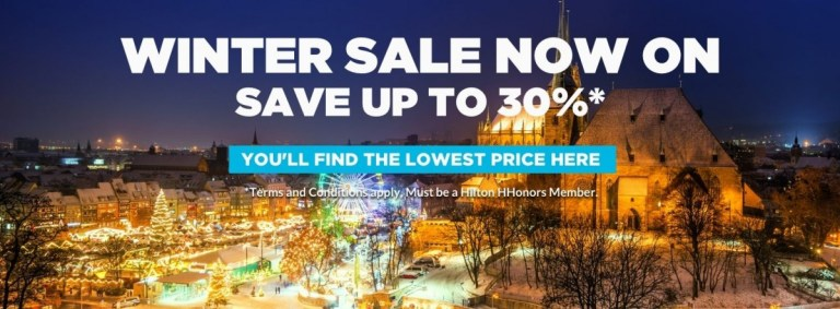 HHonors winter sale