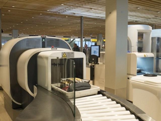 nieuwe scanners op Schiphol bij security