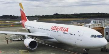 Iberia business Tokio naar Madrid