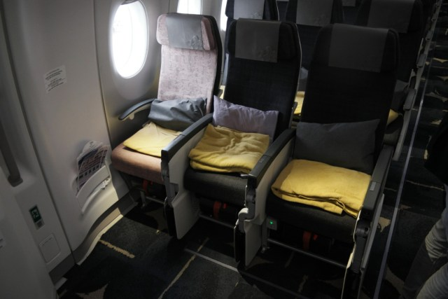 China Airlines A350 exit row