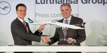 Lufthansa & Cathay Pacific samenwerking