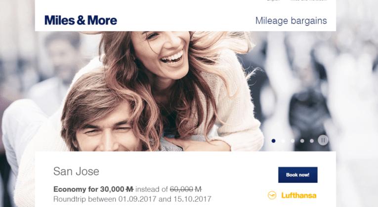 Miles & More Mileage Bargains