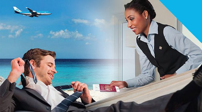 KLM Private Boarding Curacao