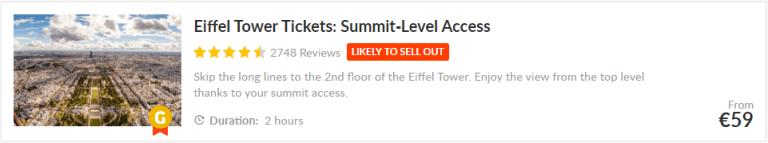 Eiffeltoren, tickets, top, attracties, getyourguide.com, tours