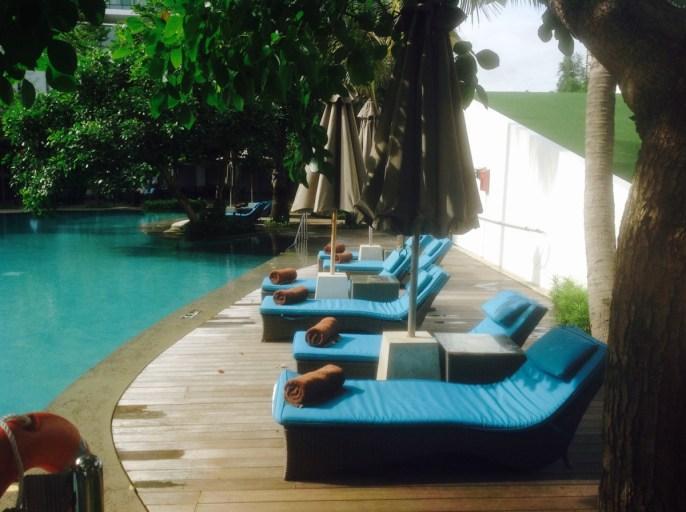 Ligstoelen, Hilton, Jakarta