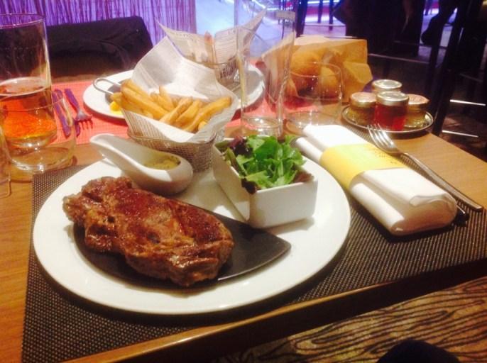 Vlees, Novotel, Lyon Confluence, Restaurant