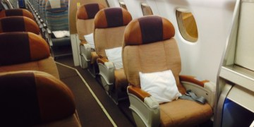 Business class, Embrear, Oman Air