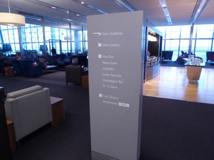 galleries first class lounge