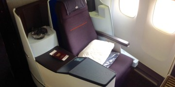 klm, business class, boeing 747, review