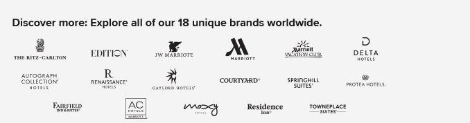 Marriott Megabonus Q2 2018