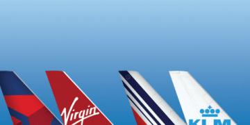 Delta Virgin AIr France KLM