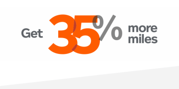 35% more miles Aeroplan Marriott