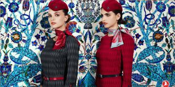 Het nieuwe uniform van Turkish Airlines (Bron: Turkish Airlines)