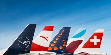 Airlines onder het moederbedrijf Lufthansa Group (Foto: Lufthansa Group)