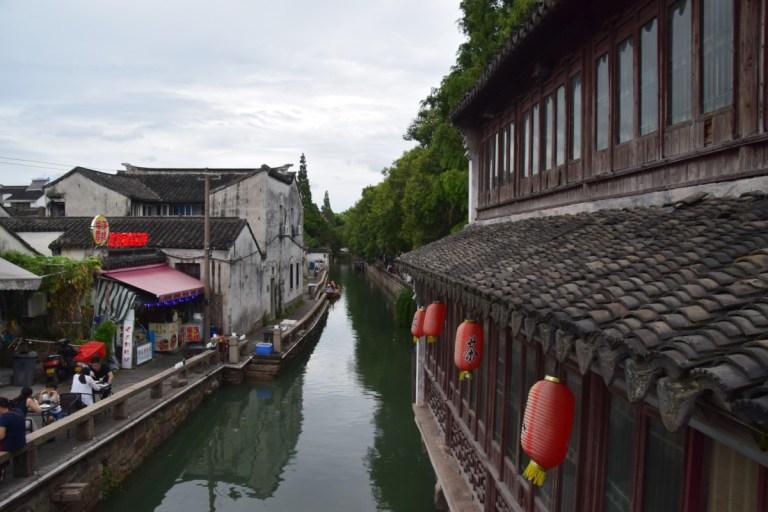 De kanalen van Suzhou
