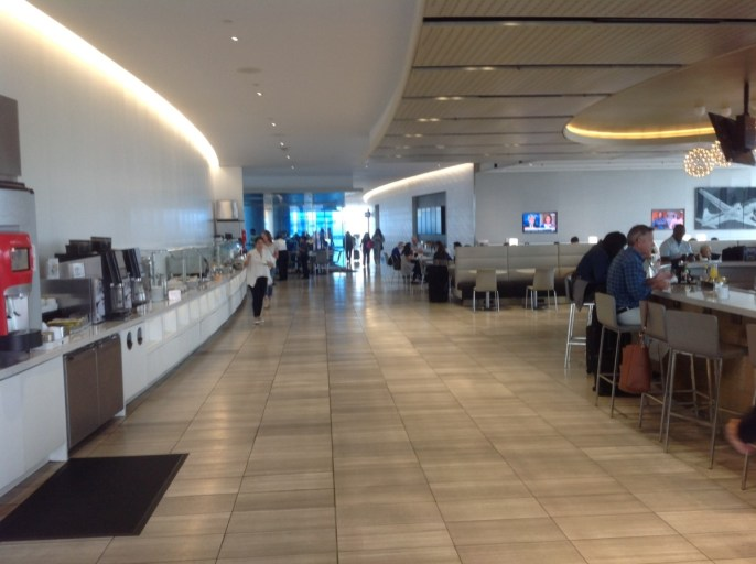united club, united airlines, lounge, Los Angeles