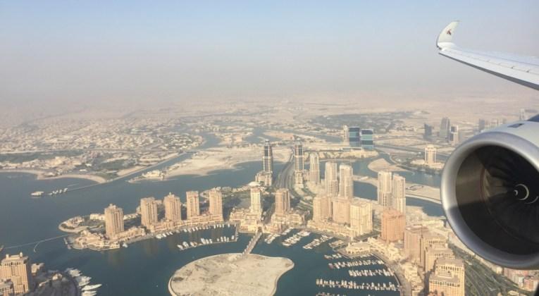 Qatar Airways QSuite A350-1000